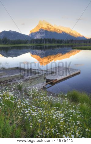Vermillion Lake At Banff