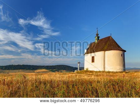 Slovakia - Holy Cross Baroque Chapel