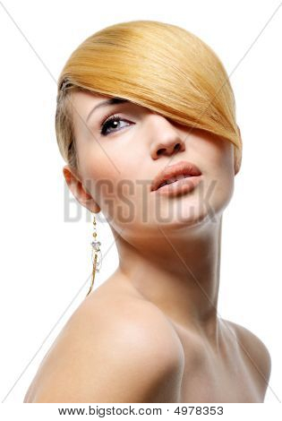 Beauty Blond Style Hairstyle