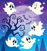 Halloween theme image 6 - eps10 vector illustration.