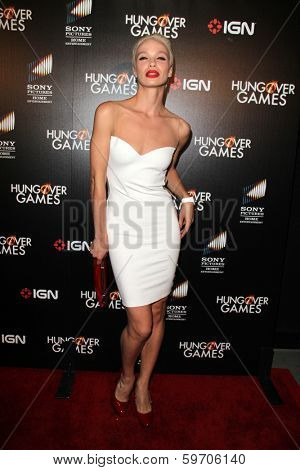 LOS ANGELES - FEB 11:  Ania Spiering at the