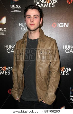 LOS ANGELES - FEB 11:  Sterling Beaumon at the