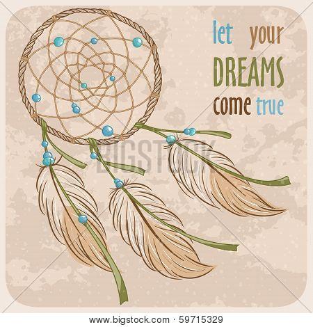 Dreamcatcher card