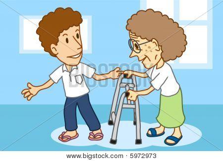 Senior & The Elderly