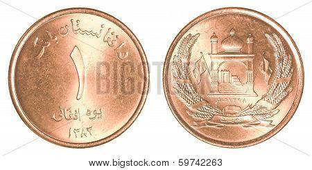 1 Afghan Afghani Coin