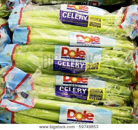 Bags Of Dole Celery