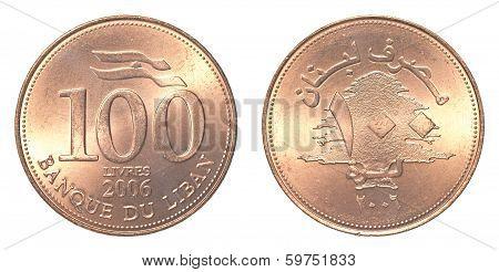 100 Lebanese Pound Coin