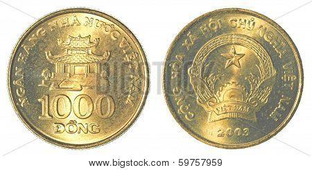 1000 Vietnamese Dong Coin