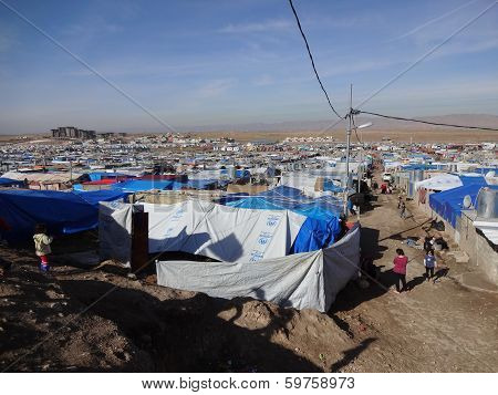 Home To Siyty Thousand Refugees