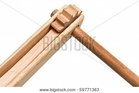 Treshchotka (clapper) Wooden Musical Instrument