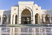 Sharif Hussein Bin Ali mosque in Aqaba Jordan poster
