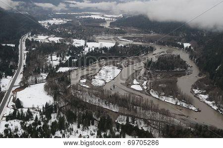 Cowlitz River flooding, Washington state
