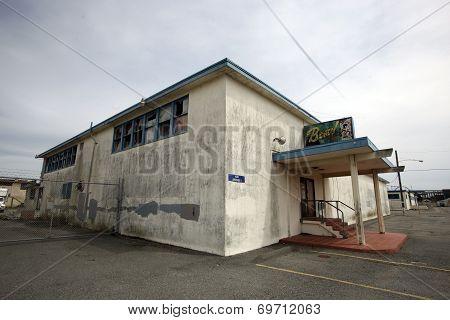 HUNTERS POINT NAVAL BASE, SAN FRANCISCO