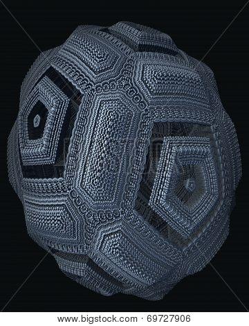 Decorative Pentagon Egg