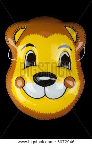 Holiday carnival fun party child costume face mask poster