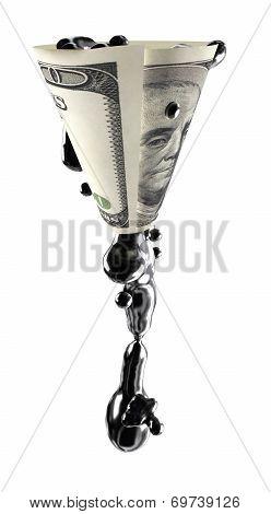Oil Flows Through The Money