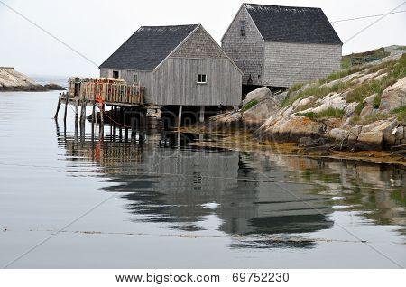 Typical fisherman village
