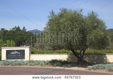 Sterling Vineyards in Napa Valley