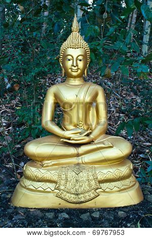 Buddhist Sculpture - The Meditating Buddha
