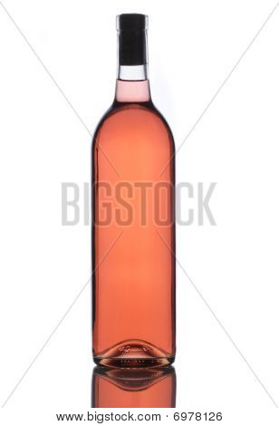 Bottle Of Rose Wine