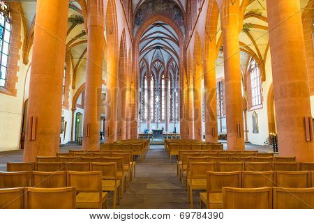 Church Of The Holy Ghost Or Heiliggeistkirche In Heidelberg, Germany