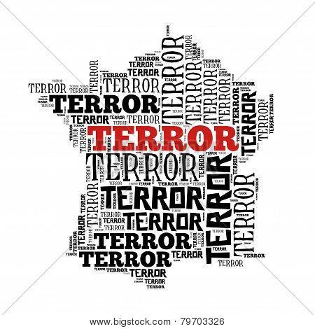 France In Terror World Cloud