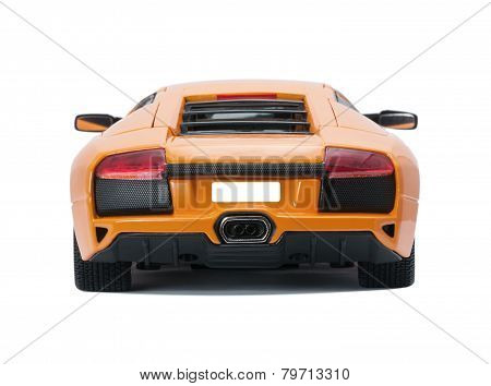 Collectible Toy Model Lamborghini Back View