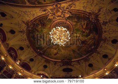 Croatian National Theatre ceiling