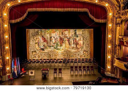 Croatian national revival curtain