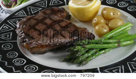 elk steak