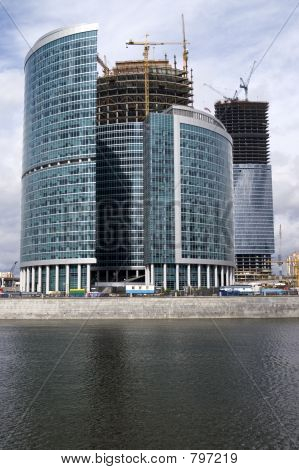 Construction of Moscow business center (3)