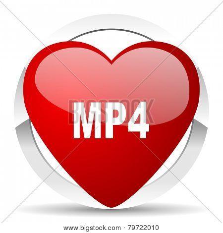 mp4 valentine icon