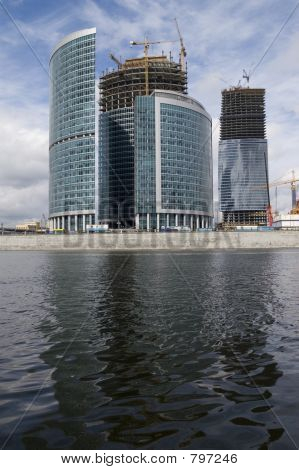 Construction of Moscow business center (5)