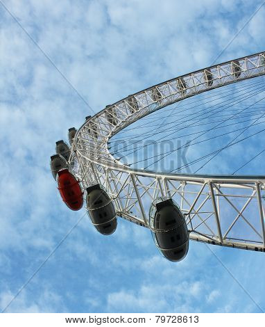 London 16. october 2014 - London Eye - Millennium Wheel