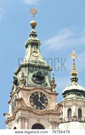 Saint Nicholas Church At Prague
