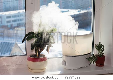 Humidifier On Window