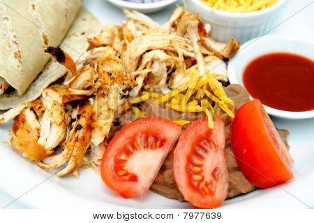 Grilled Shredded Chicken