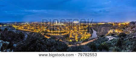Night On Toledo, Spain