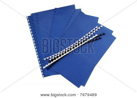 Office binder components