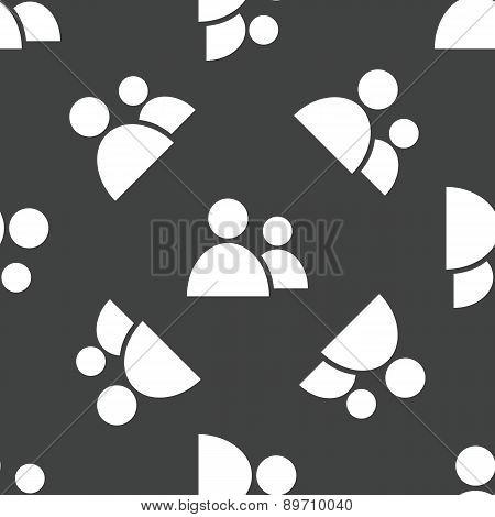 Two people pattern