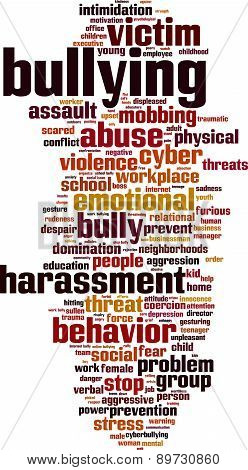 Bullying Word Cloud