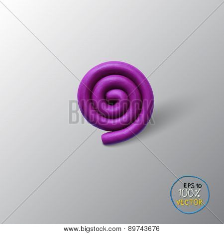 Spiral background object