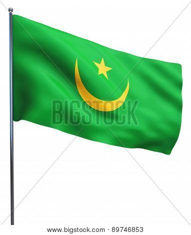 Mauritania Flag Image