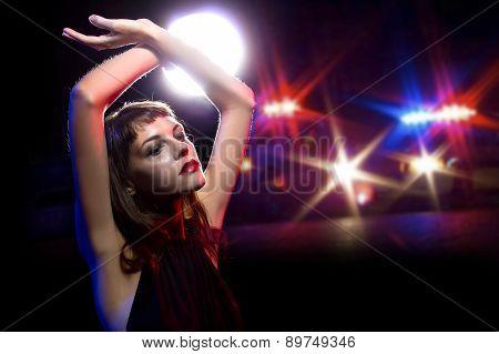 Arrested Drunk Female