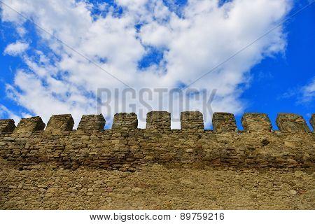 Wall At Akkerman Fortress