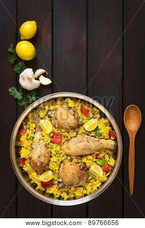 Spanish Chicken Paella