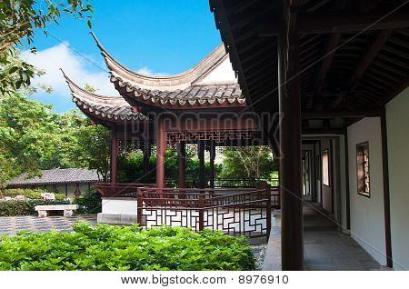 Kowloon Walled City Garden, Hong Kong.