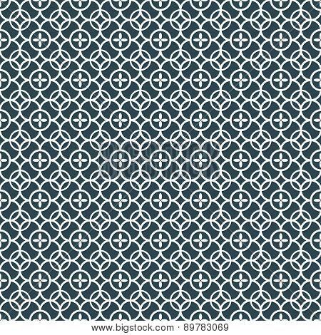 Ornamental oriental pattern