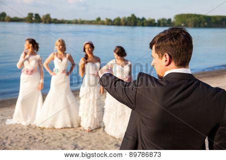 Groom Picking A Bride