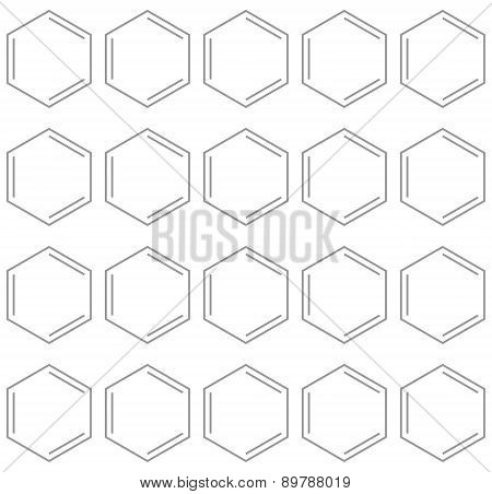 Seamless Chemical Benzene Background